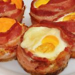 Keto Bacon and Egg Cups