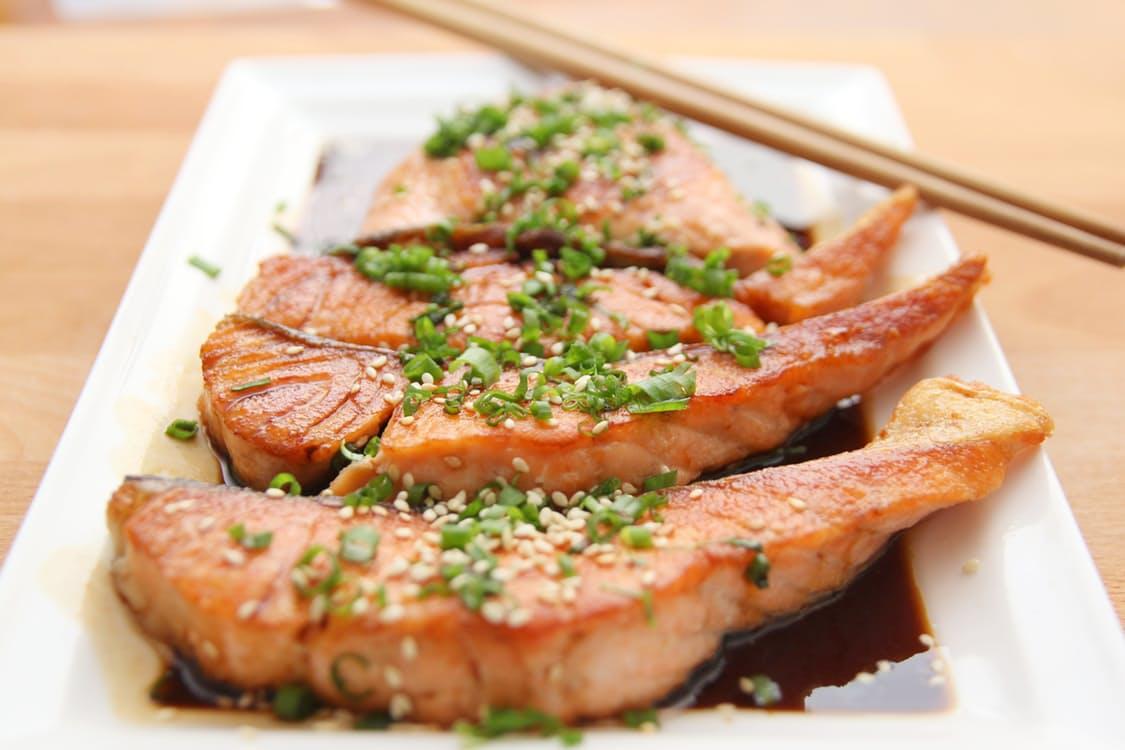 Keto Teriyaki Salmon