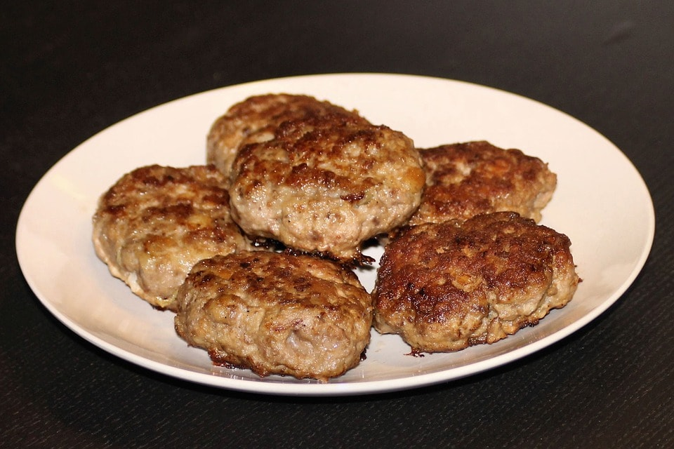 Feta Cheese and Olive Turkey Burgers