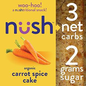 Keto snacks carrot cake