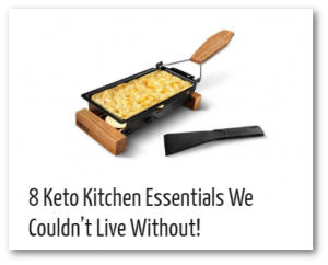 keto kitchen essentials