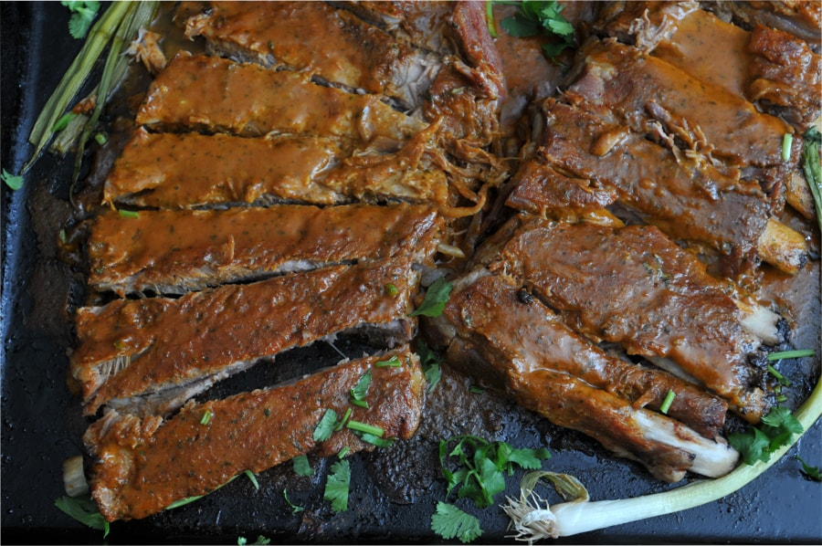 Slow-Roasted Barbecue Ribs