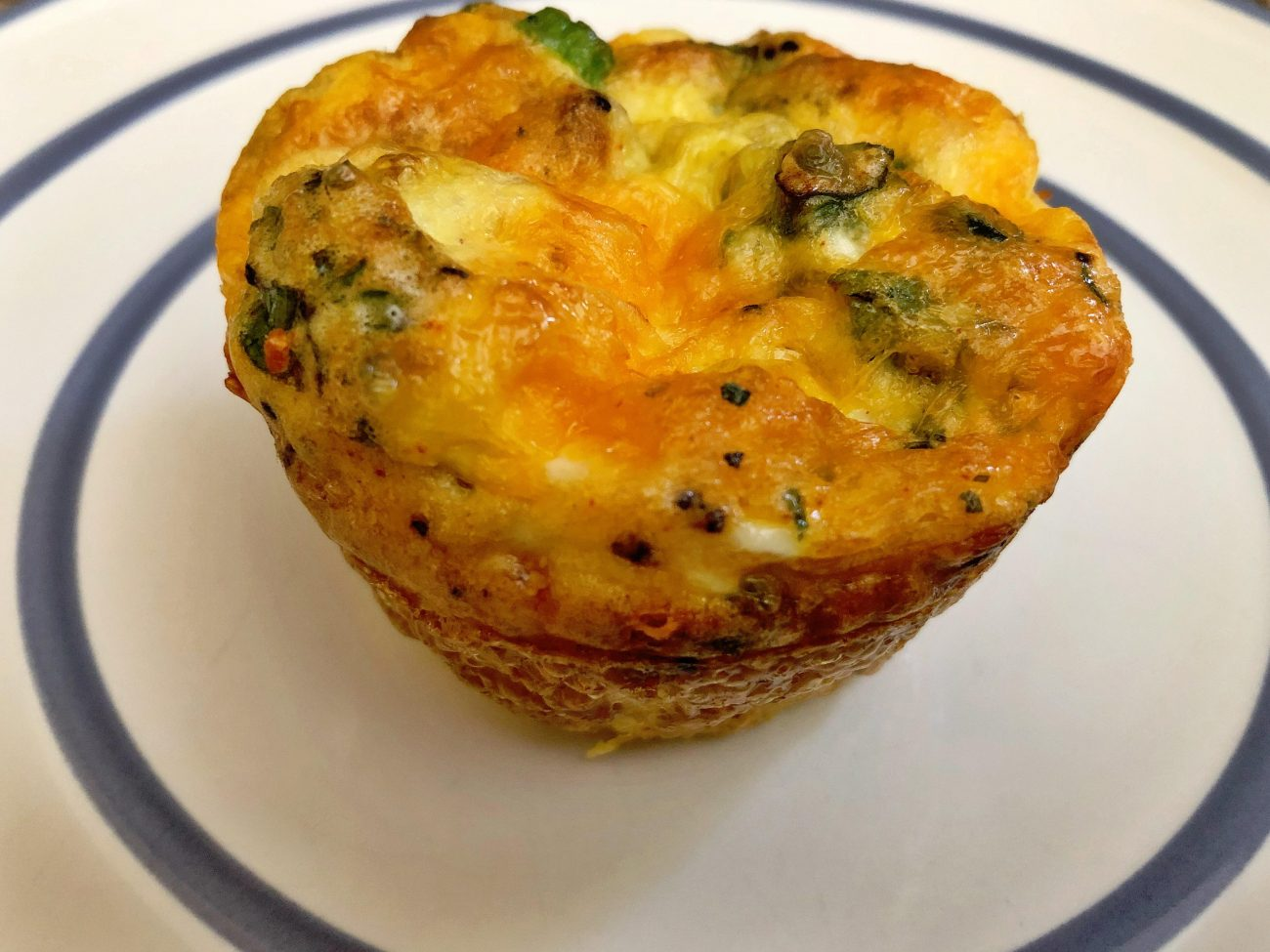Quick and Easy Keto Quiche Muffins!
