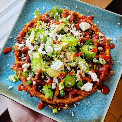 Keto Mexican Waffle