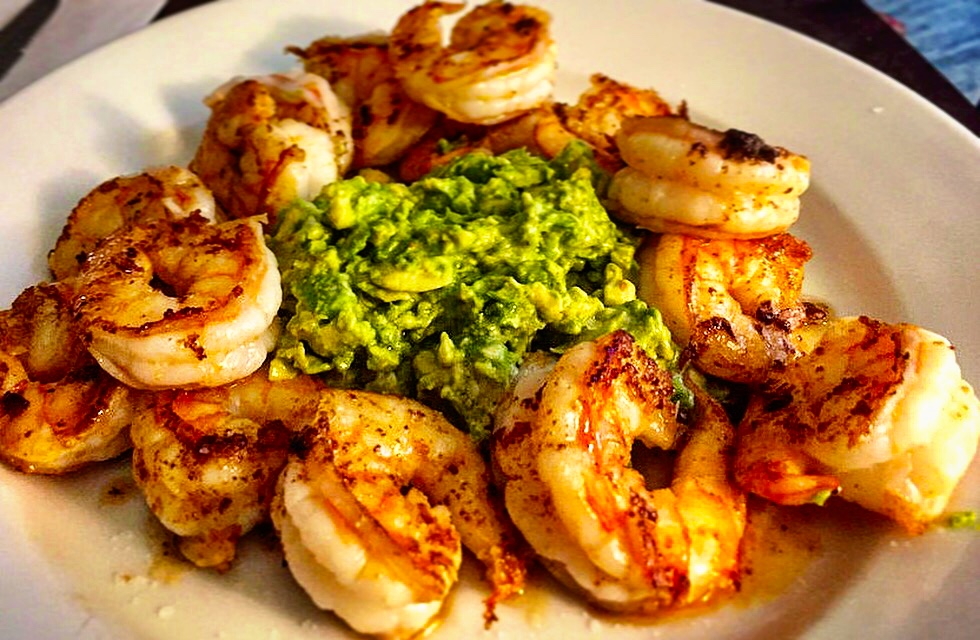 Keto Shrimp and Avocado